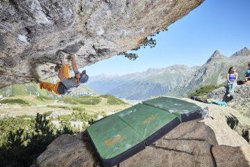 Paznaun-Bouldern; Foto: TVB Paznaun-Ischgl I Climbers Paradise
