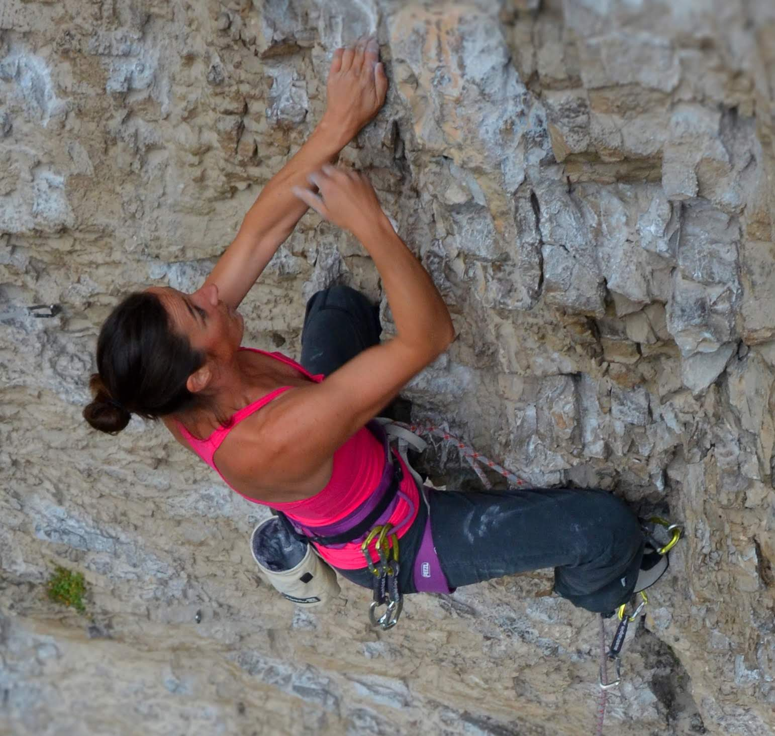 Katrin Mark-Winkler, Foto: Peter Manhartsberger I Climbers Paradise