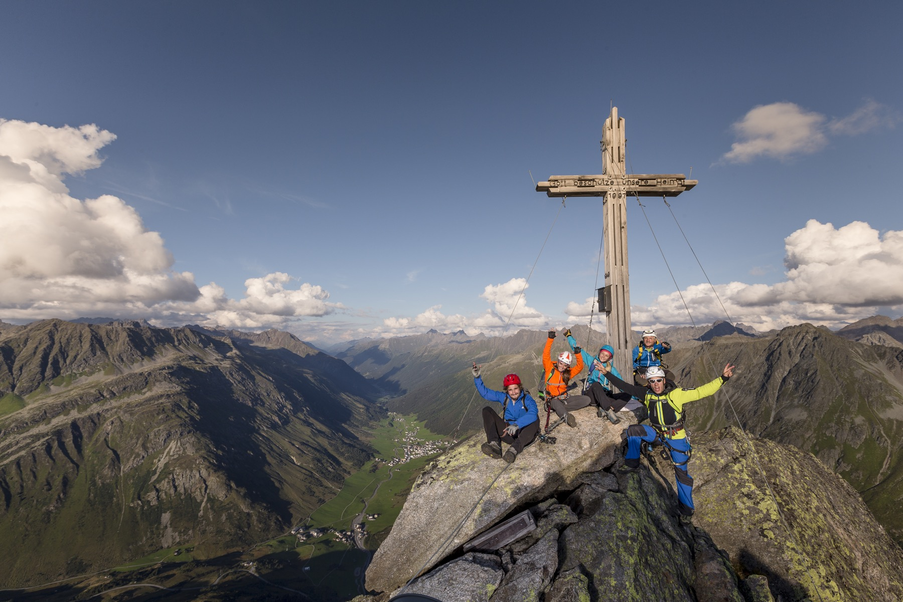 Paznaun Klettersteig Ballun; Foto: TVB Paznaun-Ischgl I Climbers Paradise