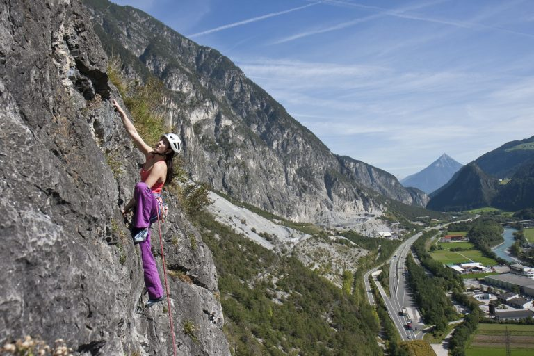 Klettern Tirol West, Foto: Daniel Zangerl I Climbers Paradise