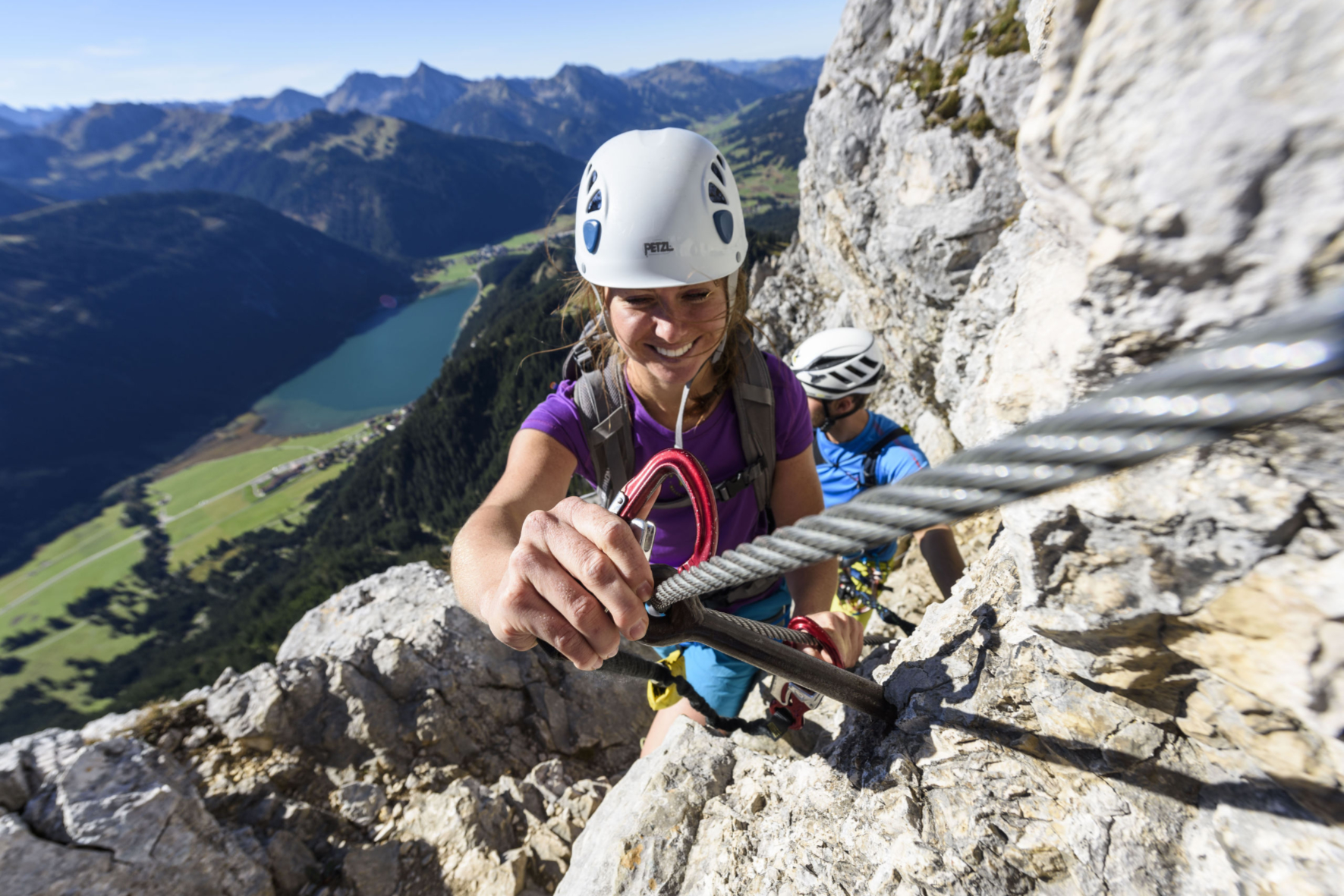 Klettersteig im Tannheimer Tal, Foto: TVB Tannheimer Tal I Climbers Paradise