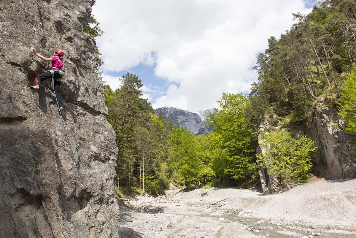Ehnbachklamm, Gotenturm, Foto: Mike Gabl I Climbers Paradise