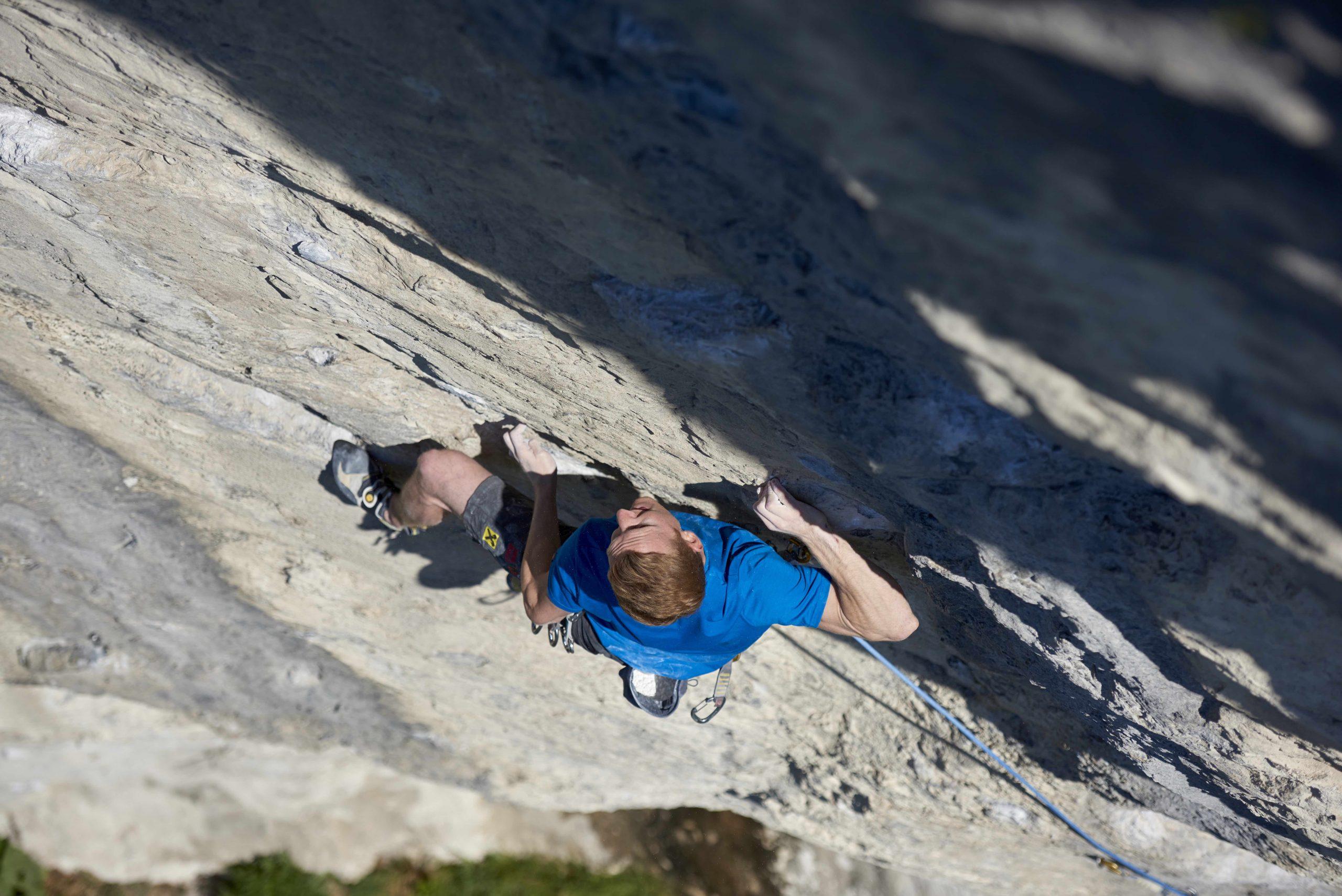 Jakob Schubert in Swingtime, Dschungelbuch, Martinswand, Foto: Michael Meisl I Climbers Paradise