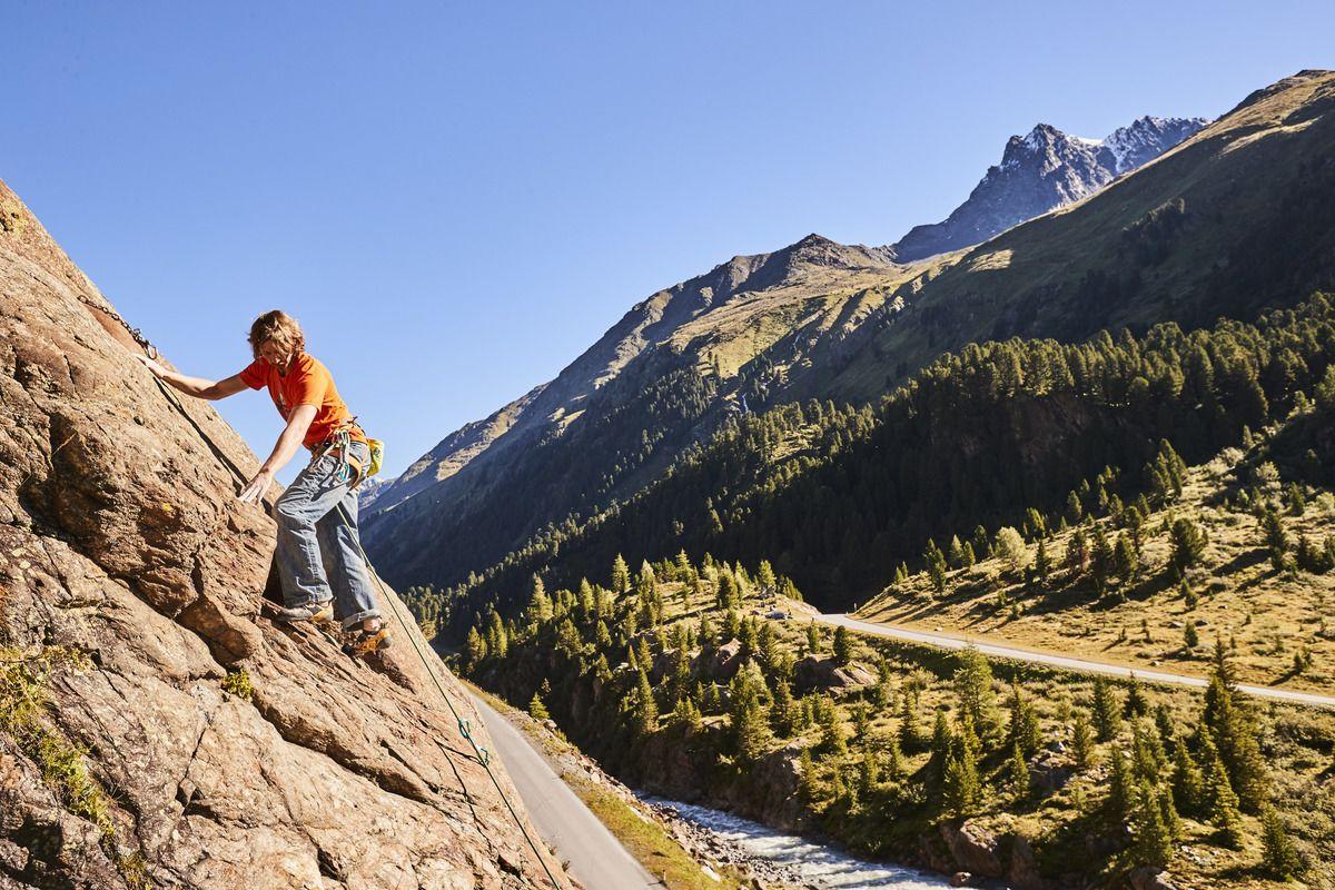 Klettern an heißen Tagen, Foto: Christian Waldiger I Climbers Paradise