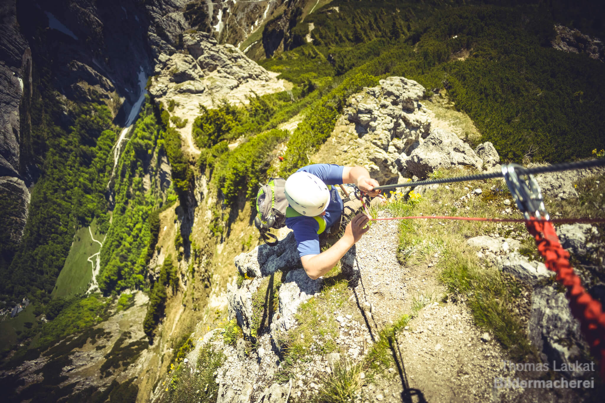 Kufsteinerland, Klettersteig Stripsenkopf, Foto: Thomas Laukat I Climbers Paradise