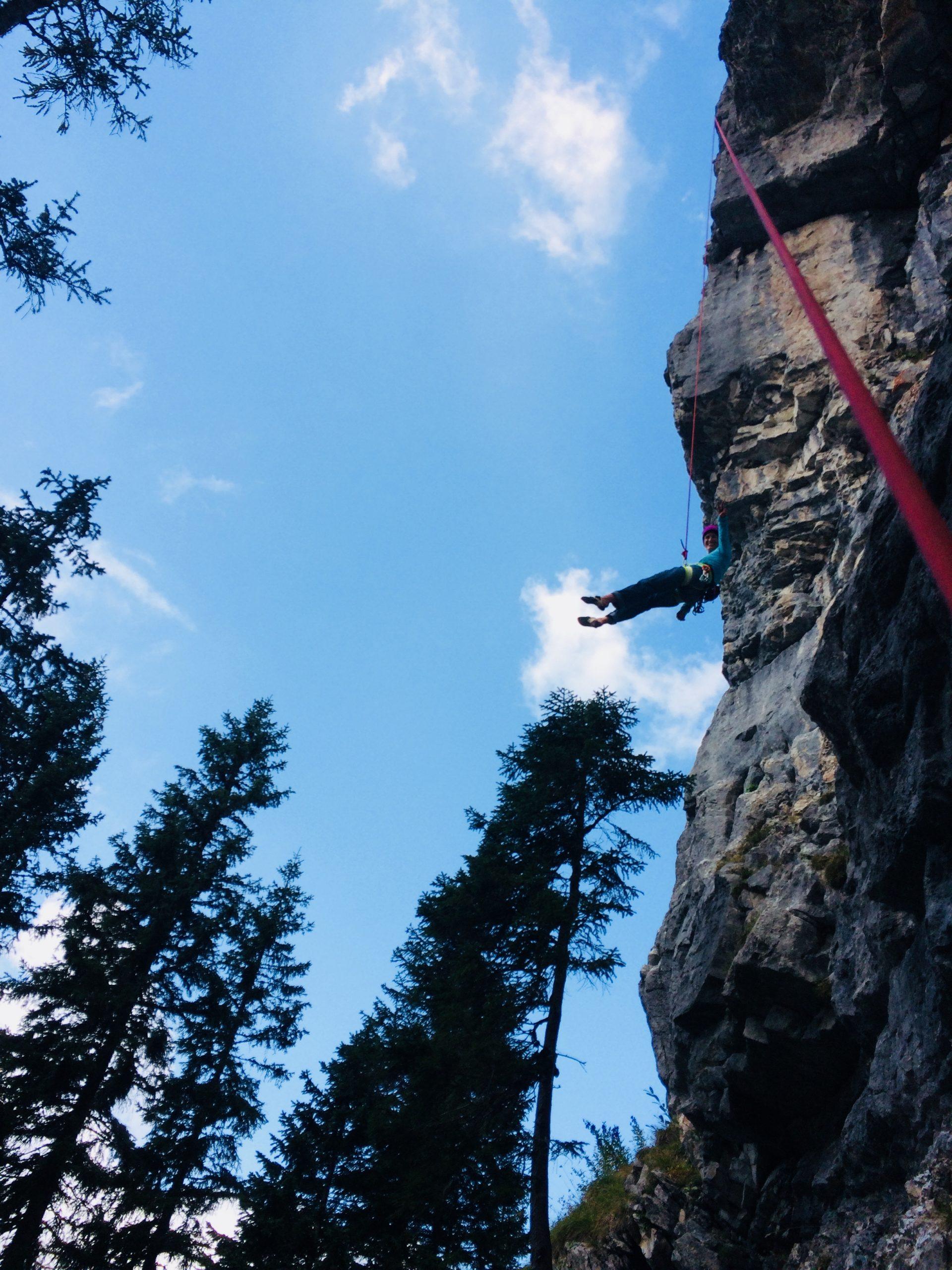 Susa Schreiner, Klettergebiet Kanzel - hinterer Sektor, Foto: Susa Schreiner I Climbers Paradise