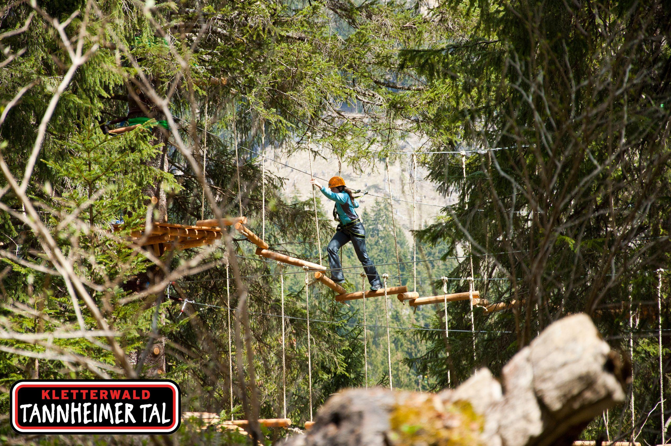 Tannheimer Tal Presse - Wald, Foto: TVB Tannheimer Tal I Climbers Paradise