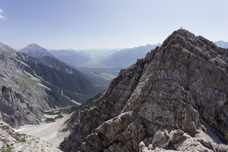 Klettersteig Wankspitze, Mieming, Foto: Günter Turner, Am Berg Verlag I Climbers Paradise