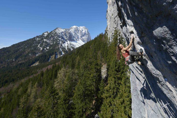 Klettern im Herbst, Foto: Michael Meisl I Climbers Paradise