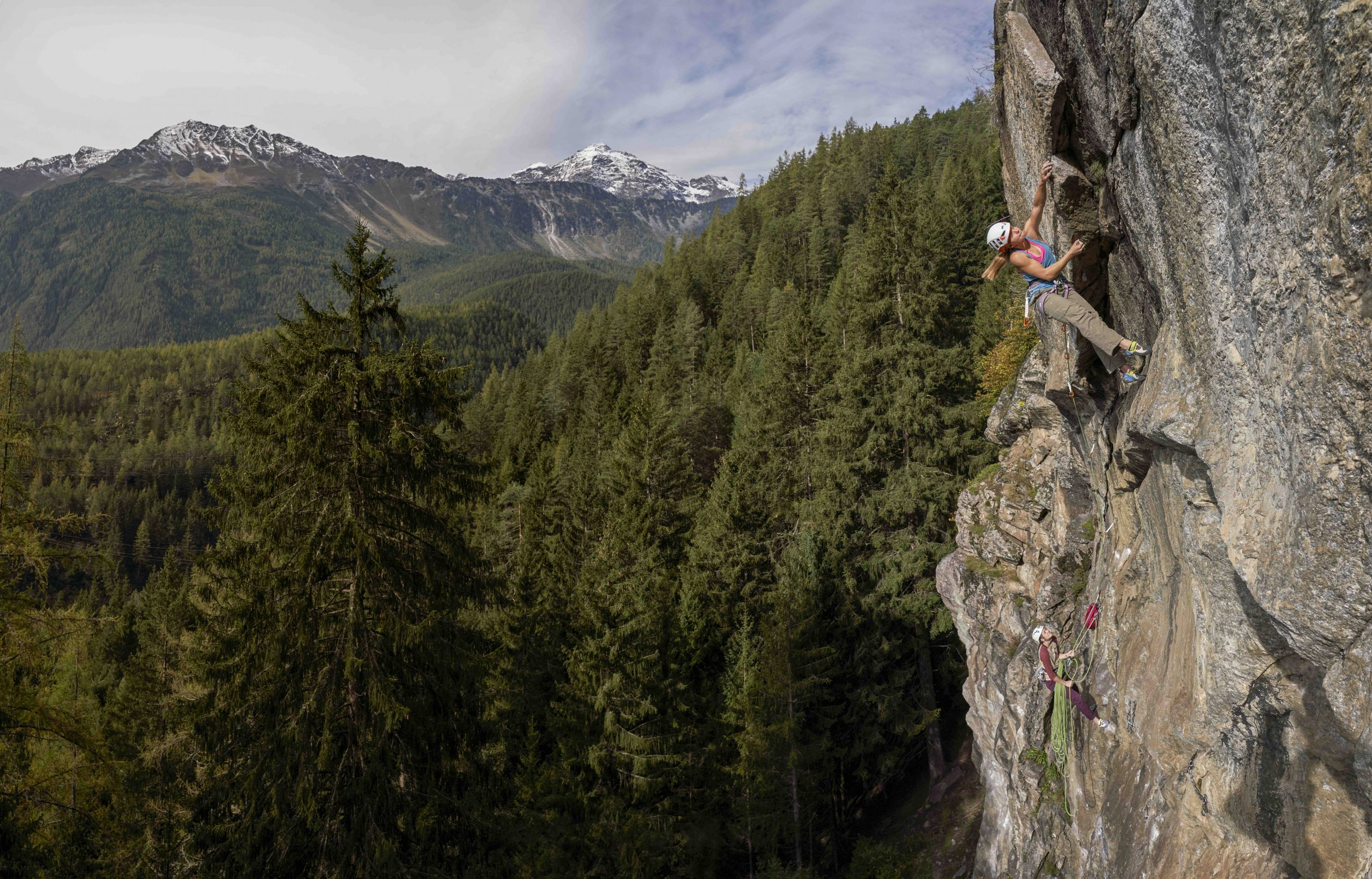 Alpines Sportklettern im Ötztal, Foto: Michael Meisl I Climbers Paradise