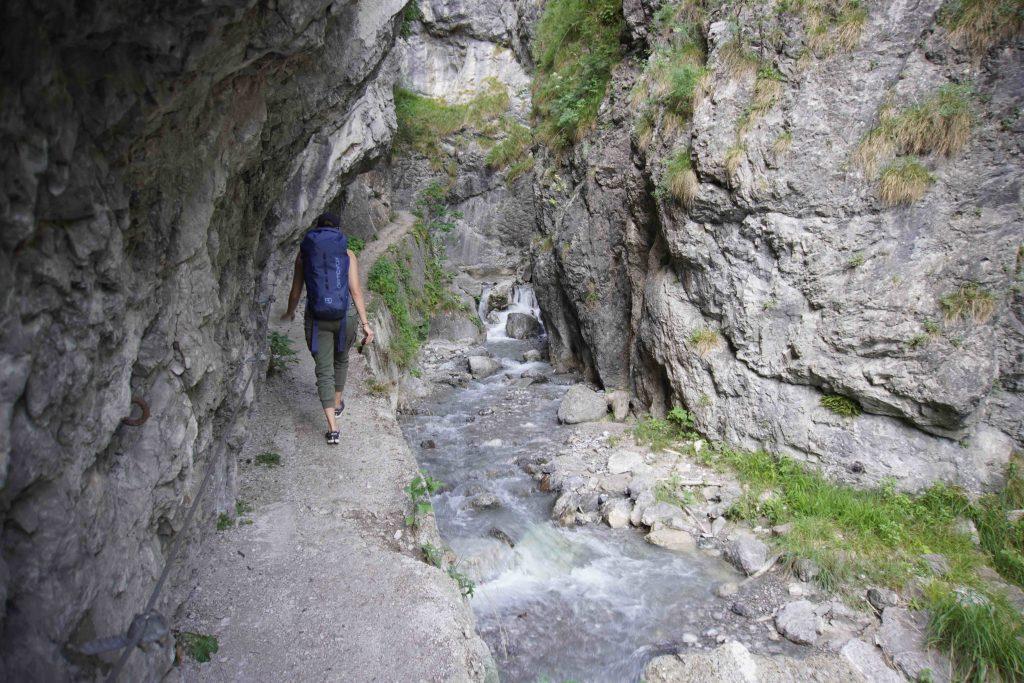 Zugang Ehnbachklamm, Foto: Benjamin Zörer I Climbers Paradise
