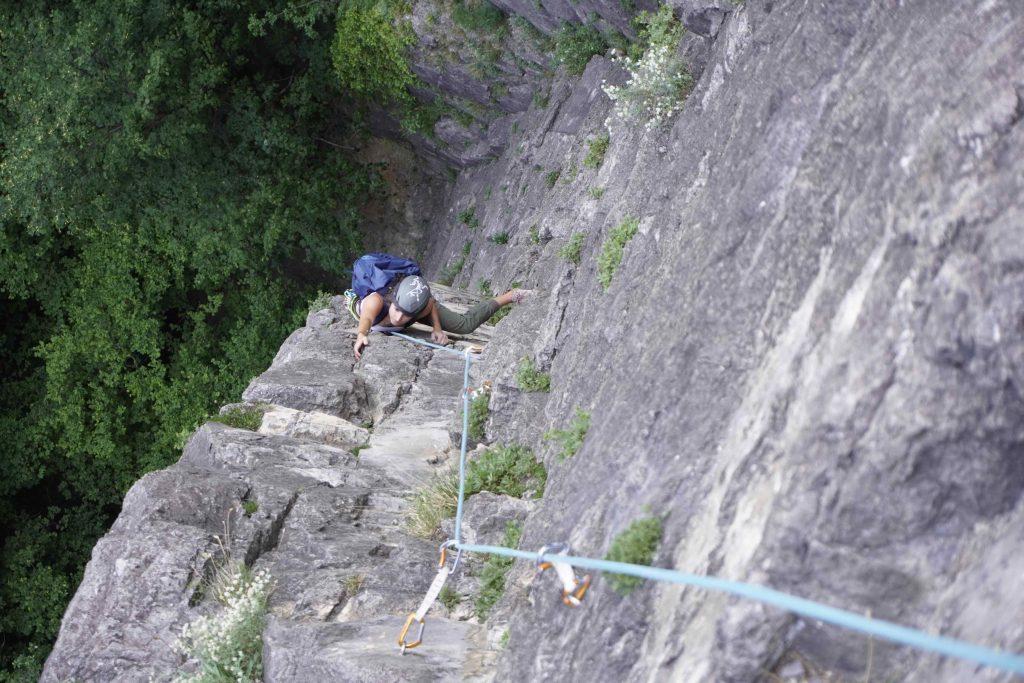 Am Jungmannschaftsriss, Foto: Benjamin Zörer I Climbers Paradise