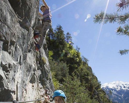 Klettersteig Zams : Klettersteige in den alpen tirol Österreich