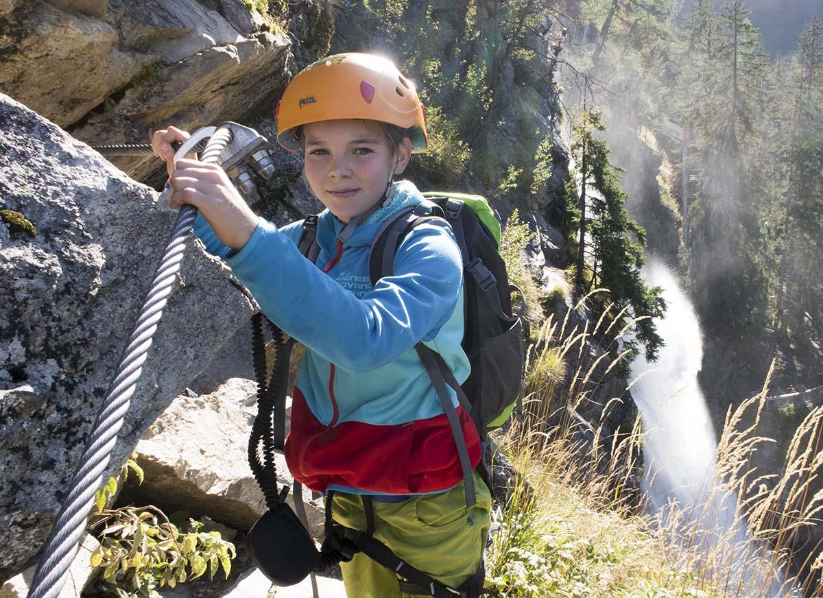 Klettersteig Stuibenfall : Klettersteige Ötztal