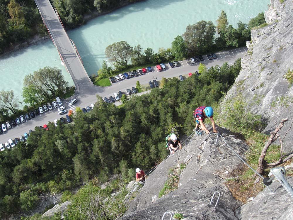 Klettersteig Zams : Klettersteig galugg klettersteige ferienregion tirol west