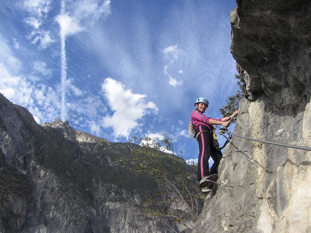 Klettersteig Zams : Neu in zams klettersteig gallugg allgemeines tips