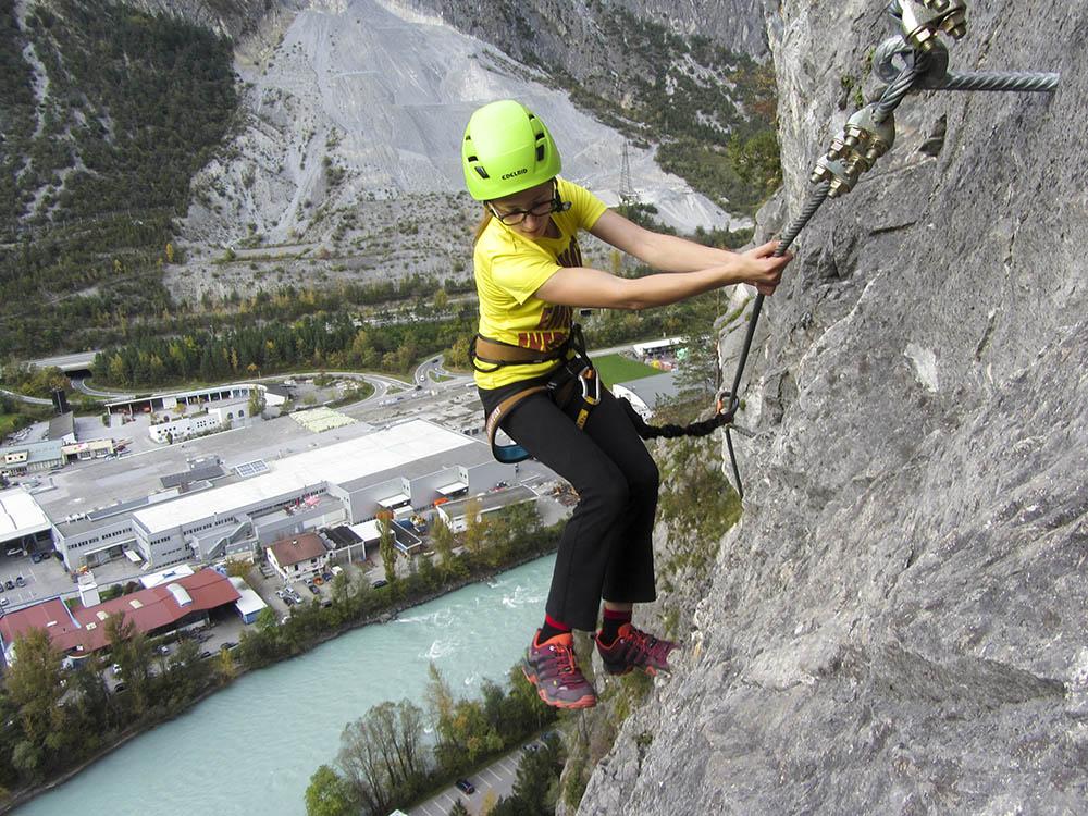 Klettersteig Zams : Die schönsten klettersteige in landeck