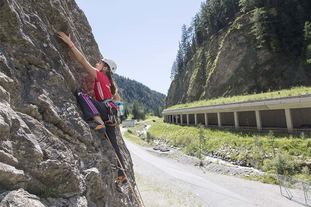 Im Klettergarten Nauders, Bild: TVB Nauders Tiroler Oberland.