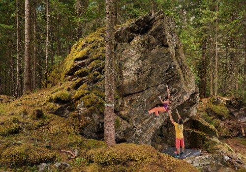 Family-friendly climbing