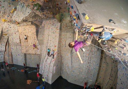 Kletter- und Boulderhallen