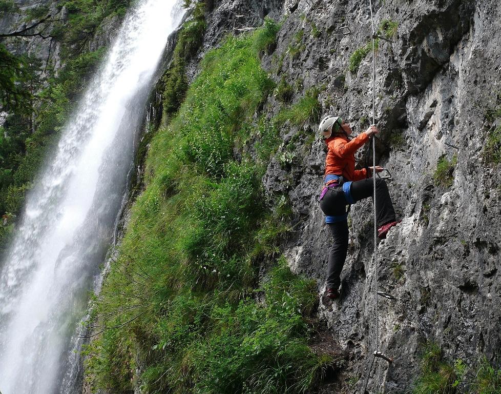 Klettersteig Achensee : Klettersteig dalfazer wasserfall klettersteige achensee