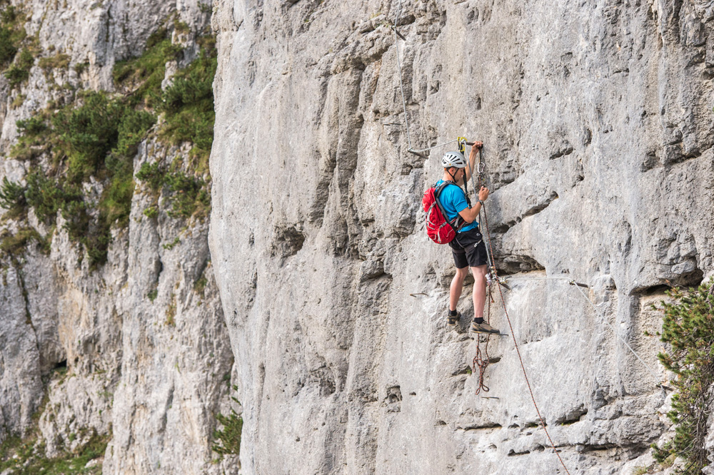Klettersteig Wilder Kaiser : Klettersteige wilder kaiser